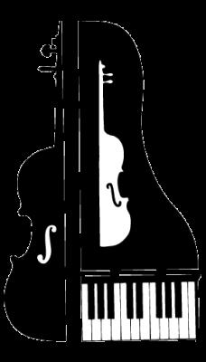 piano trio clip art